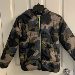 Gymboree synthetic puffer